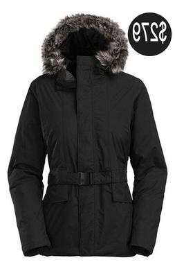 THE NORTH FACE WOMENS DUNAGIRI PARKA JACKET INSULATED DOWN T