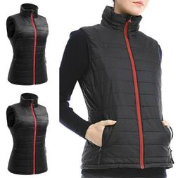 womens electric heated vest ladies usb battery
