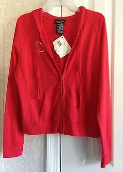 No Boundaries Womens Jacket Hoodie New Junior Size L 11 13 S
