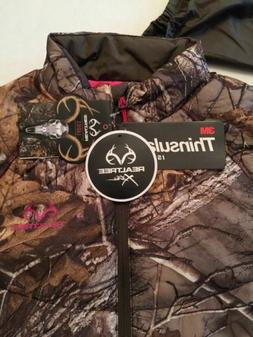 Women's Realtree Large Camo Jacket NWT Insulated Thinsulat