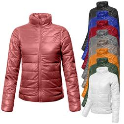 NE PEOPLE Womens Lightweight Long Sleeve Packable Puffer Jac