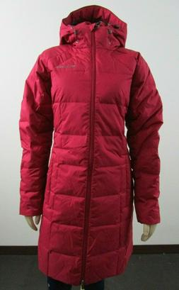 Womens M Columbia Continuum Crest Down Insulated Long Winter