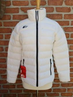 The North Face Womens Medium Stretch Down Jacket. White.
