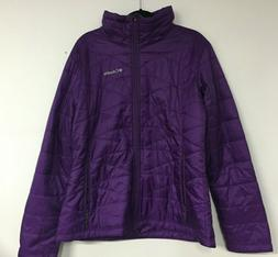 Columbia Womens Mighty Lite III Jacket Purple Extra Large UT