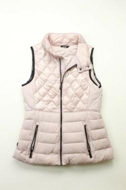Womens Calvin Klein Performance DOWN vest jacket small Pink