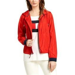 Tommy Hilfiger Sport Womens Red Lightweight Logo Athletic Ja