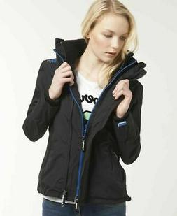 Womens Superdry Technical SD-Windcheater Jacket Black