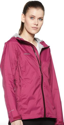 Columbia Womens XS L Evapouration Jacket Wine Berry Hooded R