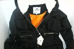 Orolay Womens XXL, Black, Thickened Down Jacket