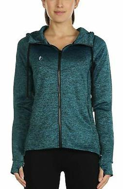 icyzone Workout Track Jackets for Women - Athletic Exercise