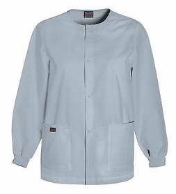 Workwear Women's 4350 Snap Scrub Jacket - Grey