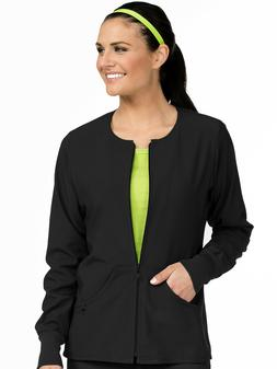 Med Couture Zip Front Warm Up Jacket 8638 NEW  ~SAME DAY~FRE