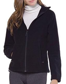 Women's Full-Zip Polar Sport Fall Winter Spring Fleece Jacke